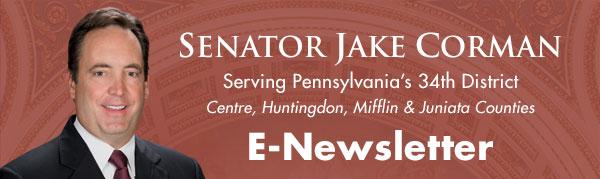 Senator Jake Corman E-Newsletter