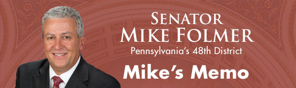Senator Mike Folmer E-Newsletter
