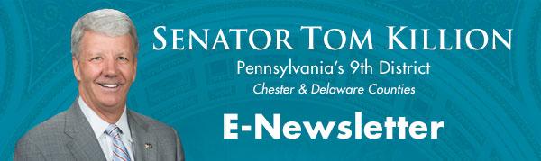 Senator Tom Killion E-Newsletter