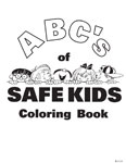 ABC's on Safe Kids - Coloring Book