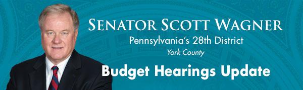 Senator Scott Wagner E-Newsletter