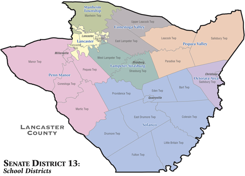 Senate District 31 School Districts