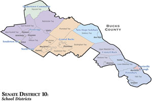Senate District 10 School Districts