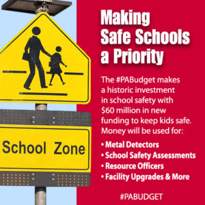 Making Safe Schools a Priority