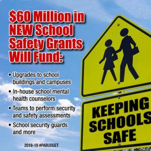 $60 Million in New School Safety Grants